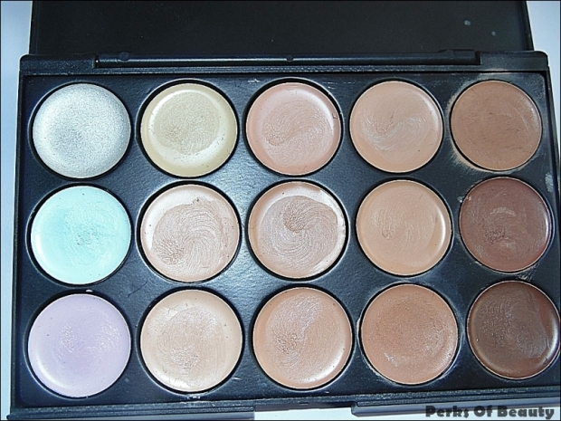 Ebay-Concealer-Palette-Swatches-Review